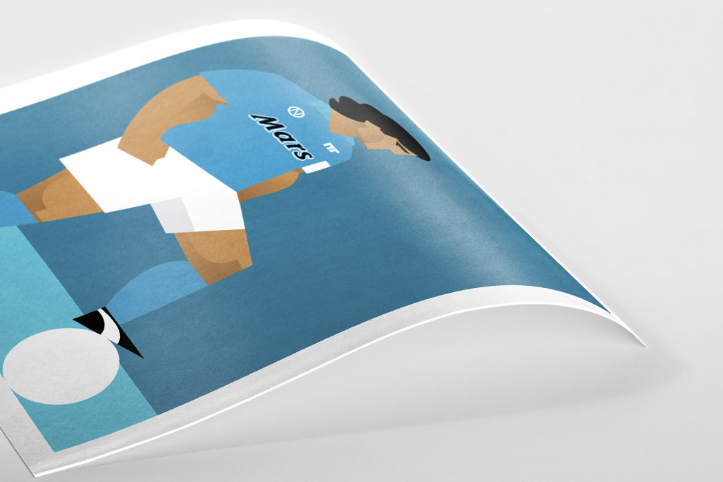 Stanley Chow F.C. - Diego (Napoli) als Poster