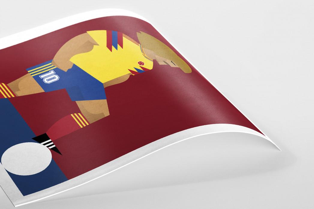 Stanley Chow F.C. - El Pibe als Poster