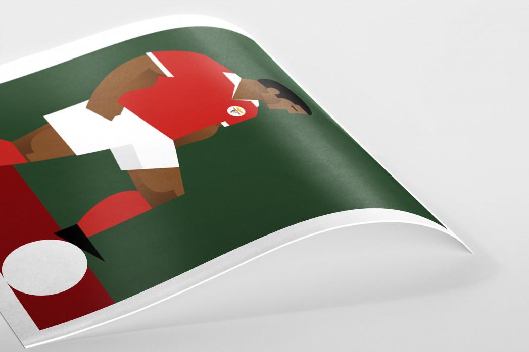 Stanley Chow F.C. - Eusébio als Poster