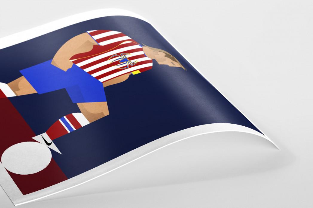 Stanley Chow F.C. - Fernando als Poster