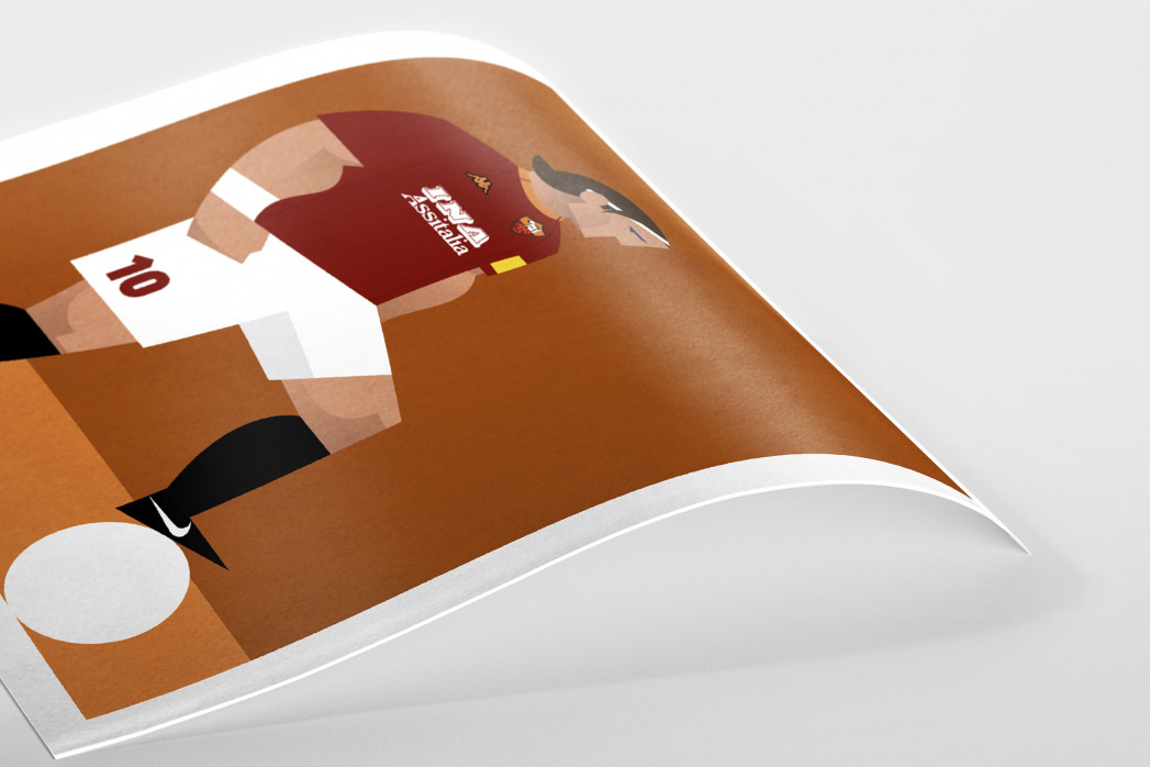 Stanley Chow F.C. - Francesco als Poster