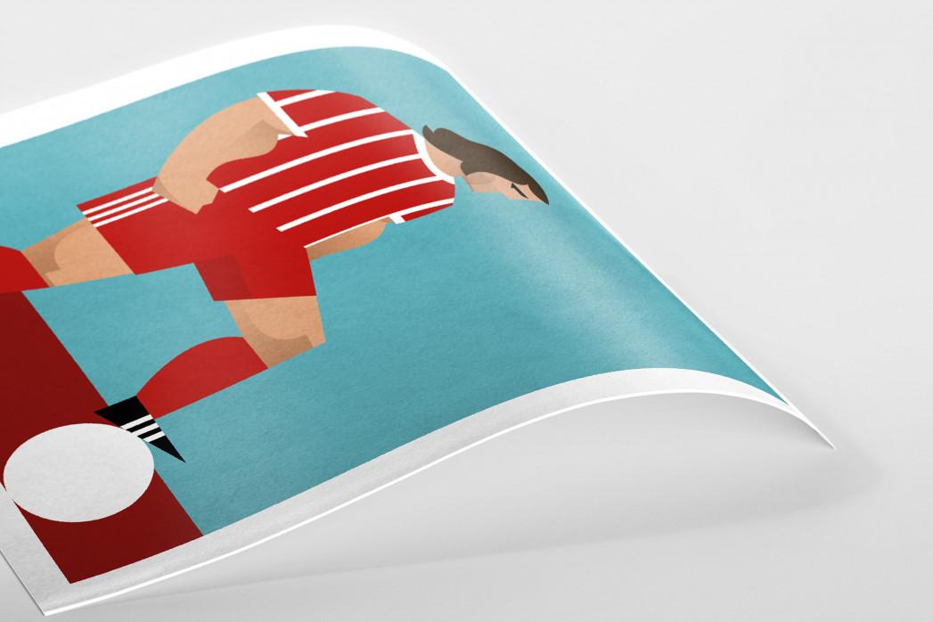 Stanley Chow F.C. - Gerd als Poster