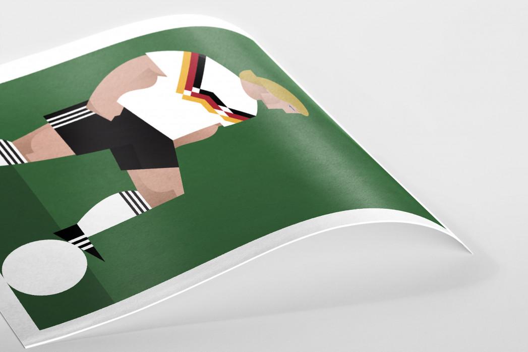 Stanley Chow F.C. - Jürgen als Poster