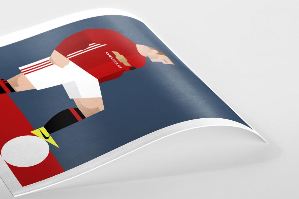 Stanley Chow F.C. - Wayne  als Poster
