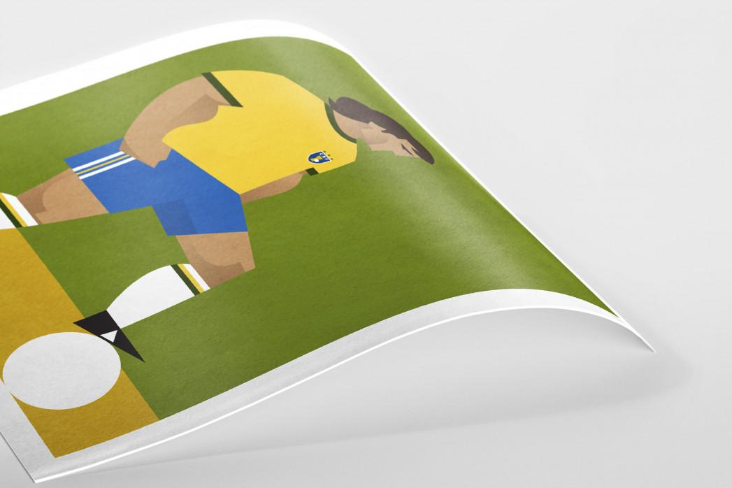 Stanley Chow F.C. - Zico als Poster