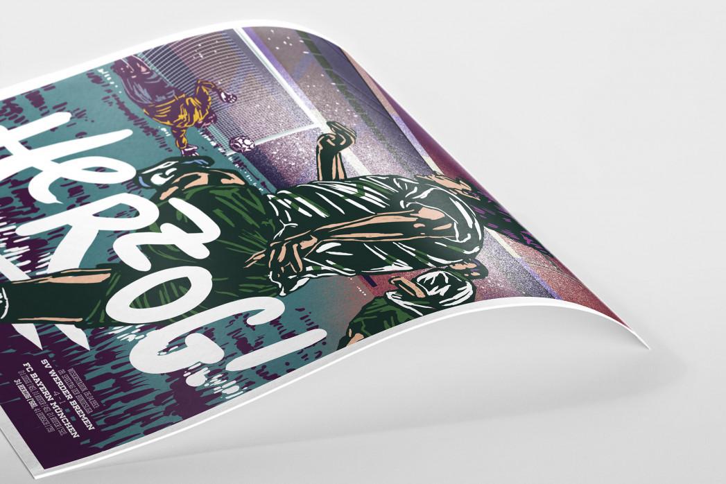 Herzog (AllStarGoals - Werder) als Poster