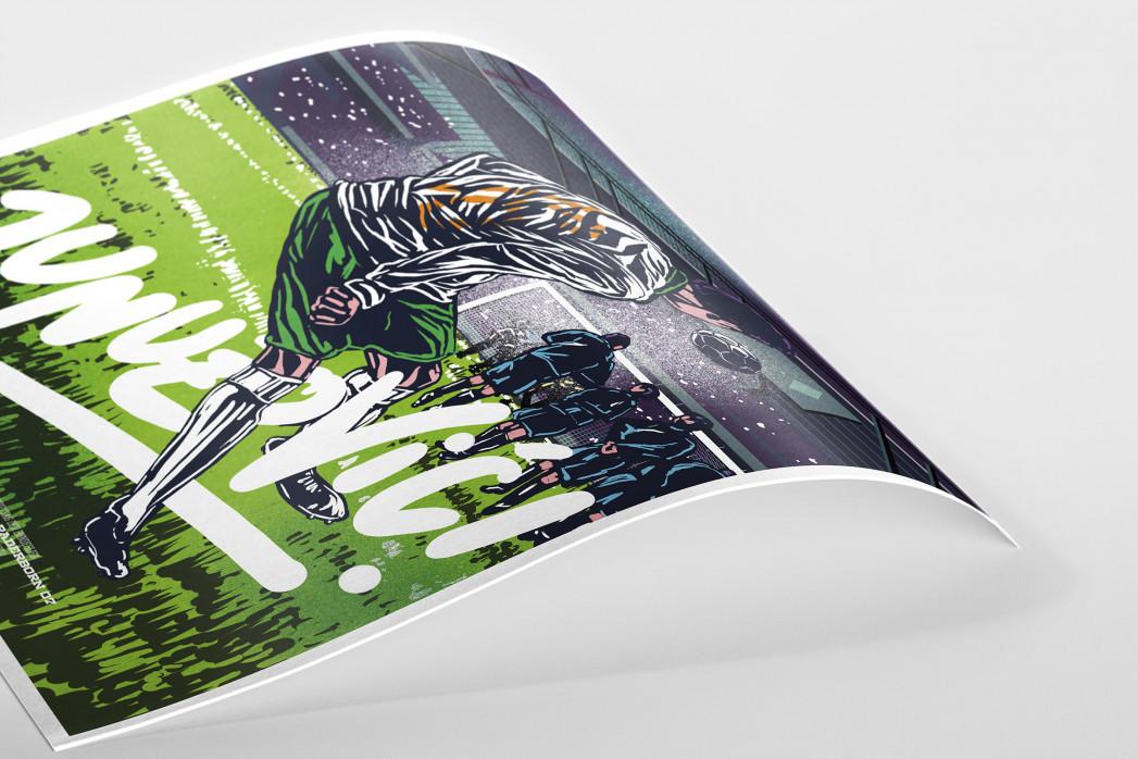 Junuzovic (AllStarGoals - Werder) als Poster