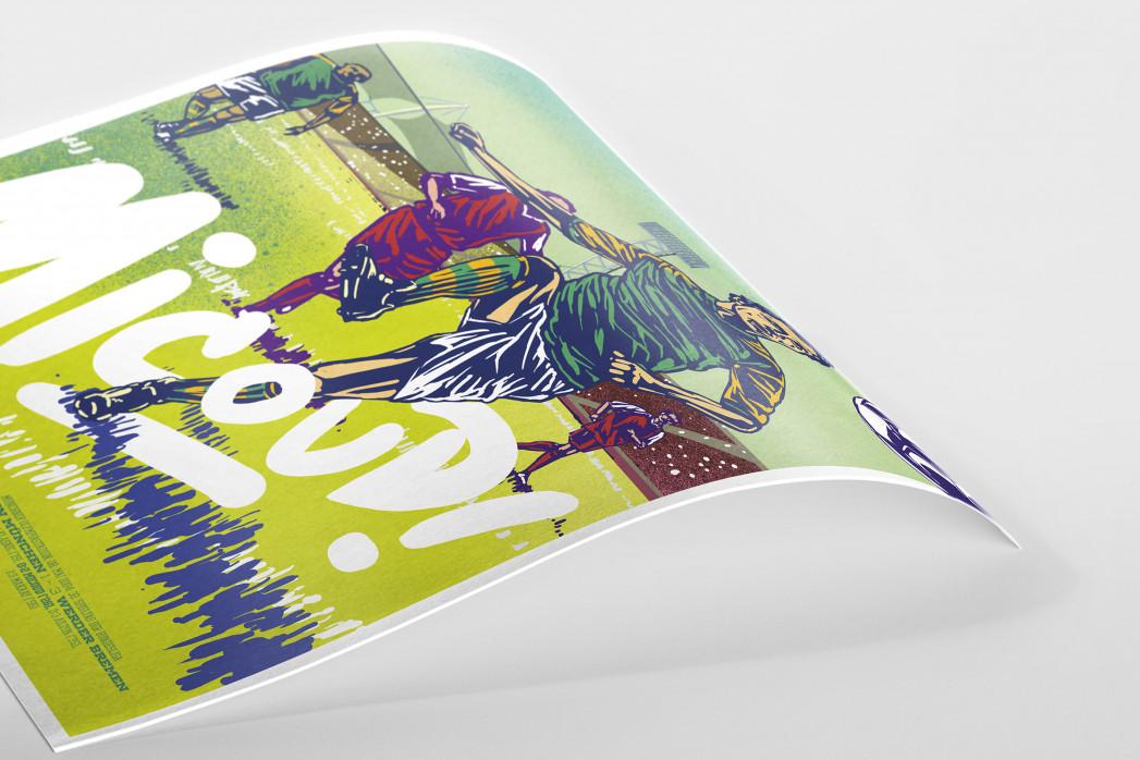 Micoud (AllStarGoals - Werder) als Poster