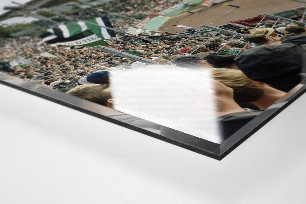 Münster als Direktdruck auf Alu-Dibond hinter Acrylglas (Detail)