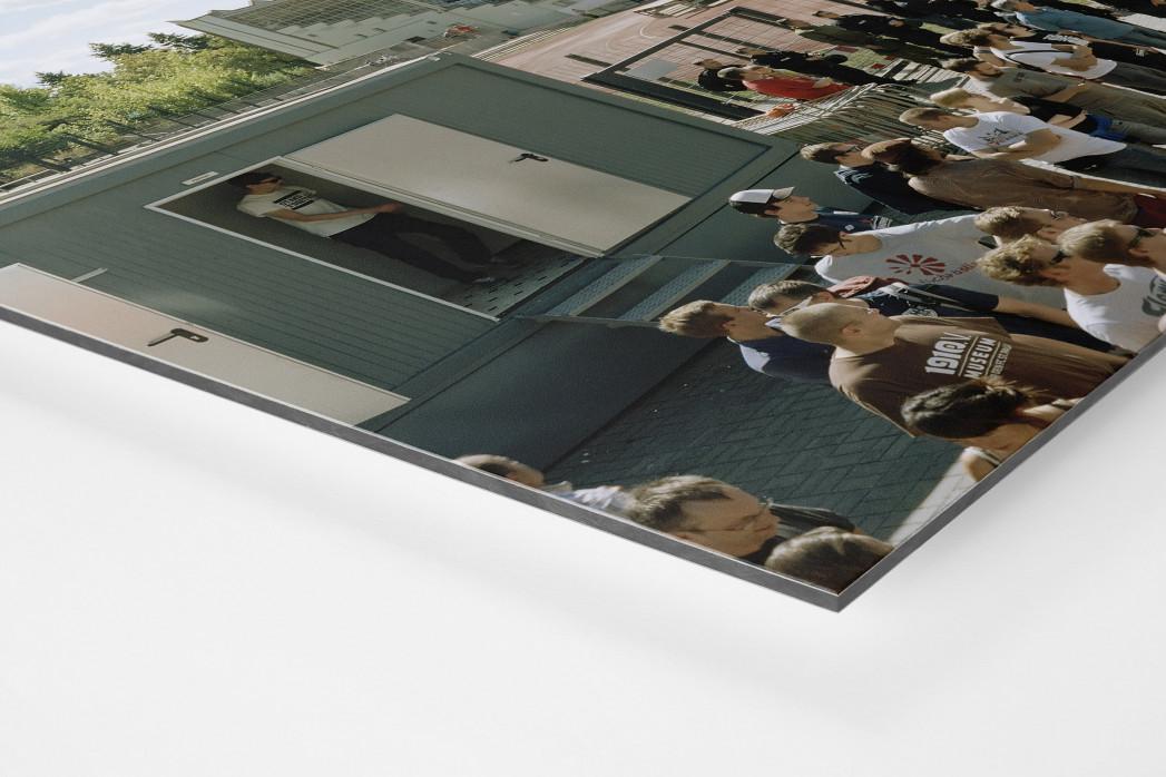 Berlin (Poststadion) als auf Alu-Dibond kaschierter Fotoabzug (Detail)