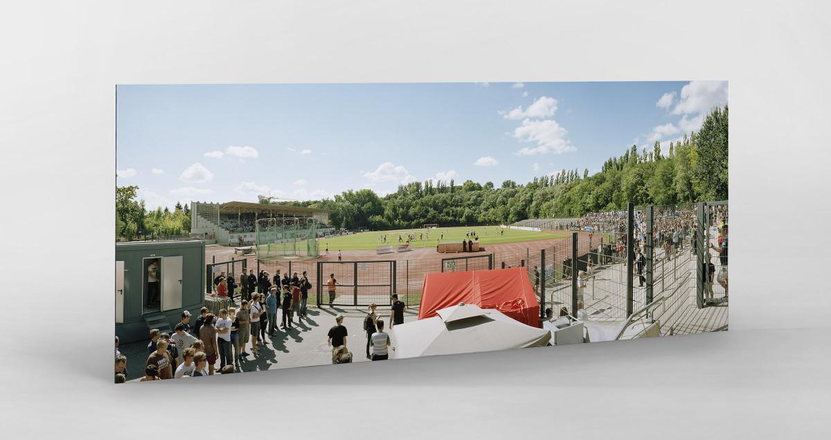 Berlin (Poststadion) als auf Alu-Dibond kaschierter Fotoabzug