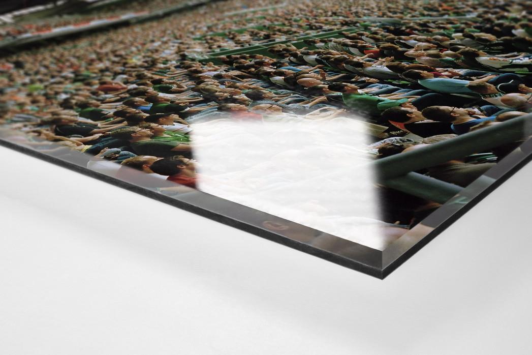 Bremen (2011) als Direktdruck auf Alu-Dibond hinter Acrylglas (Detail)