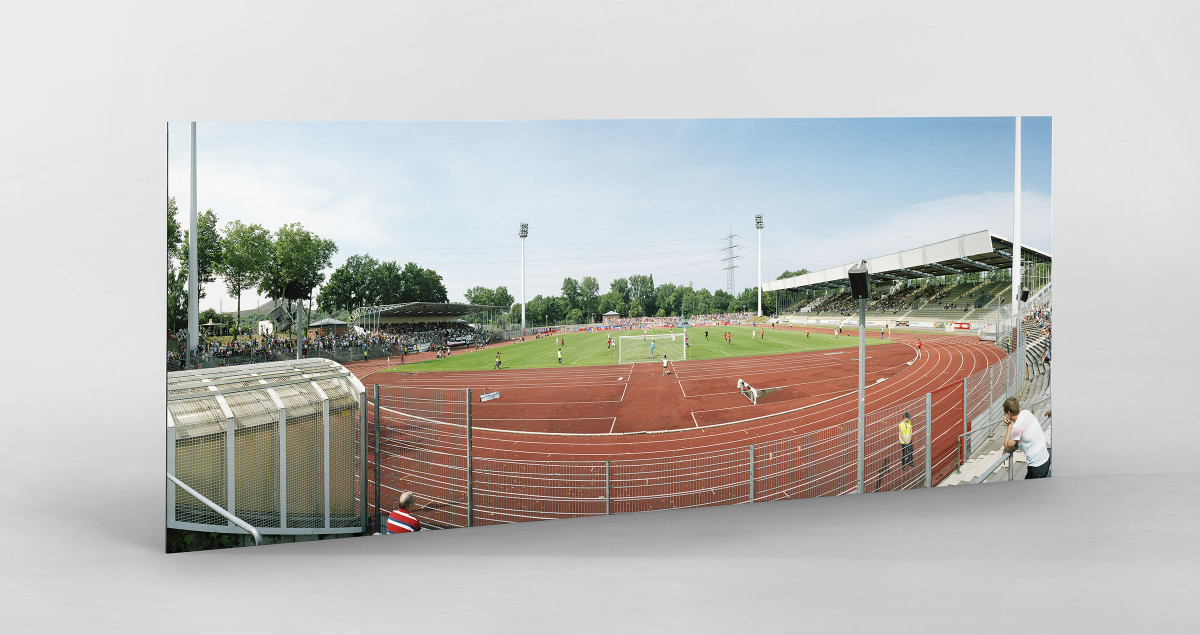 Bochum (Wattenscheid) als auf Alu-Dibond kaschierter Fotoabzug
