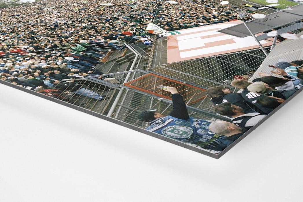 Mönchengladbach (2004) als auf Alu-Dibond kaschierter Fotoabzug (Detail)