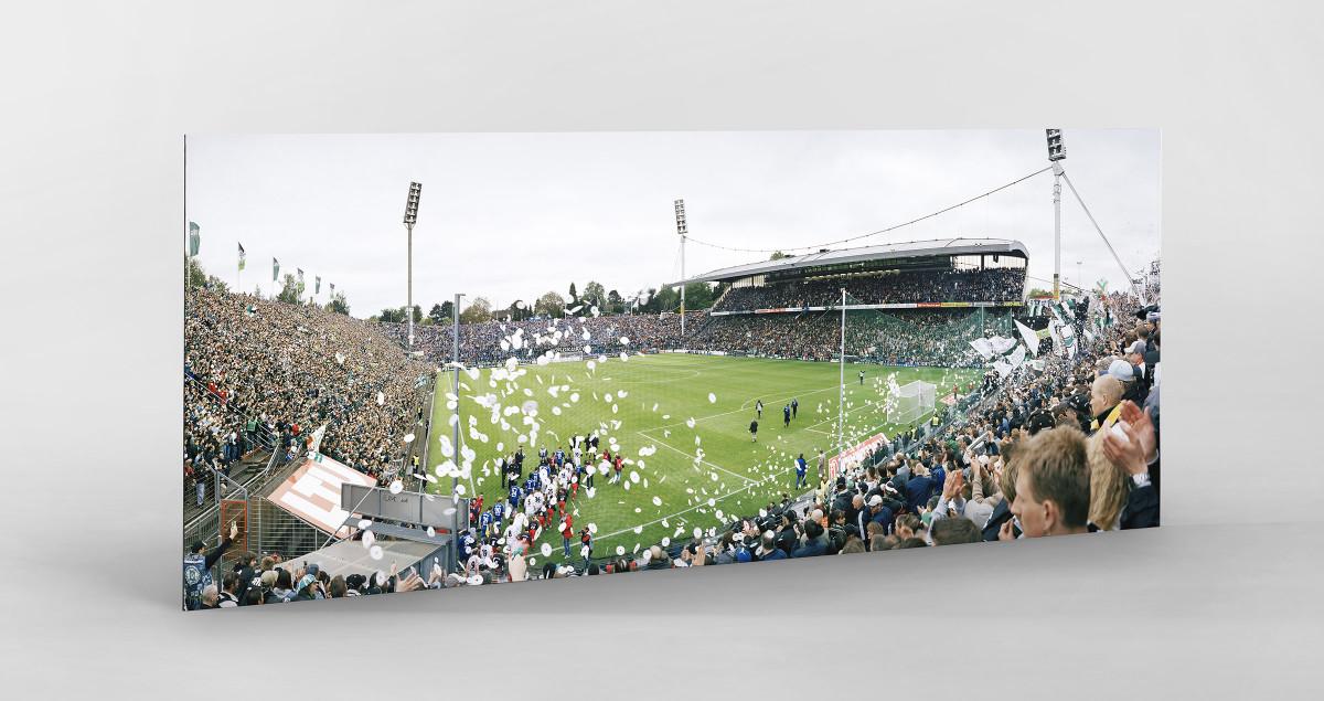 Mönchengladbach (2004) als auf Alu-Dibond kaschierter Fotoabzug