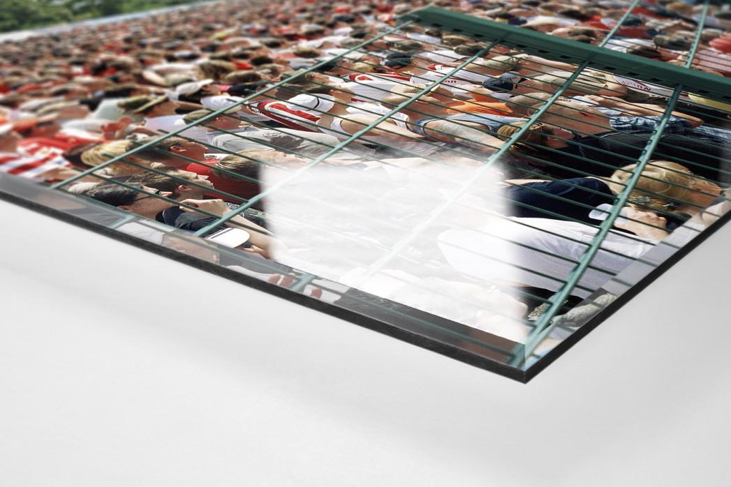 Berlin (Alte Försterei, 2008) als Direktdruck auf Alu-Dibond hinter Acrylglas (Detail)