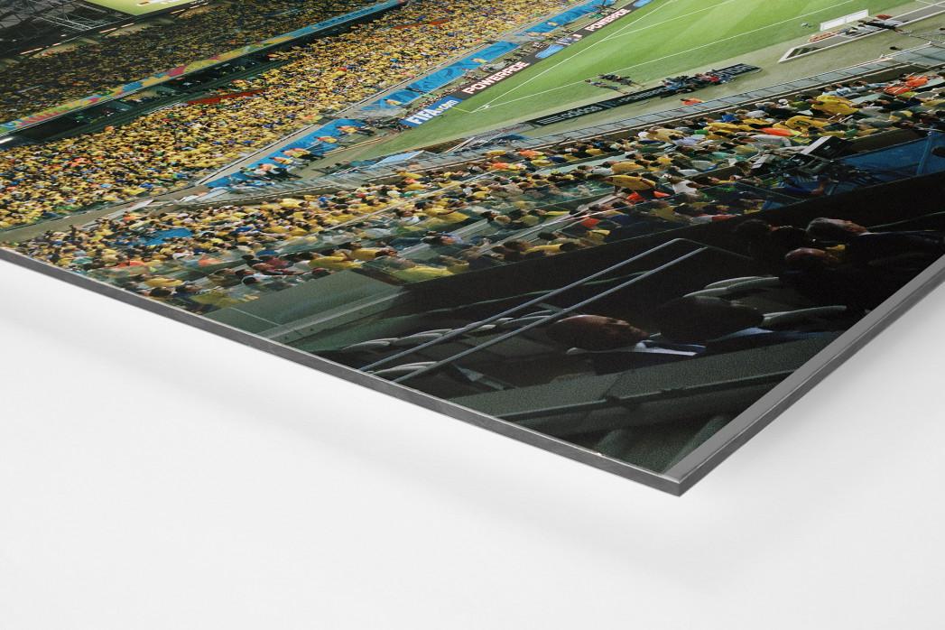 Belo Horizonte (2014) als auf Alu-Dibond kaschierter Fotoabzug (Detail)
