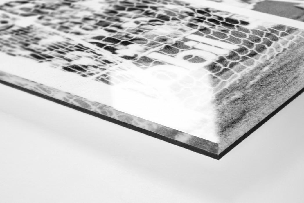 Jena vs. Karl-Marx-Stadt als Direktdruck auf Alu-Dibond hinter Acrylglas (Detail)
