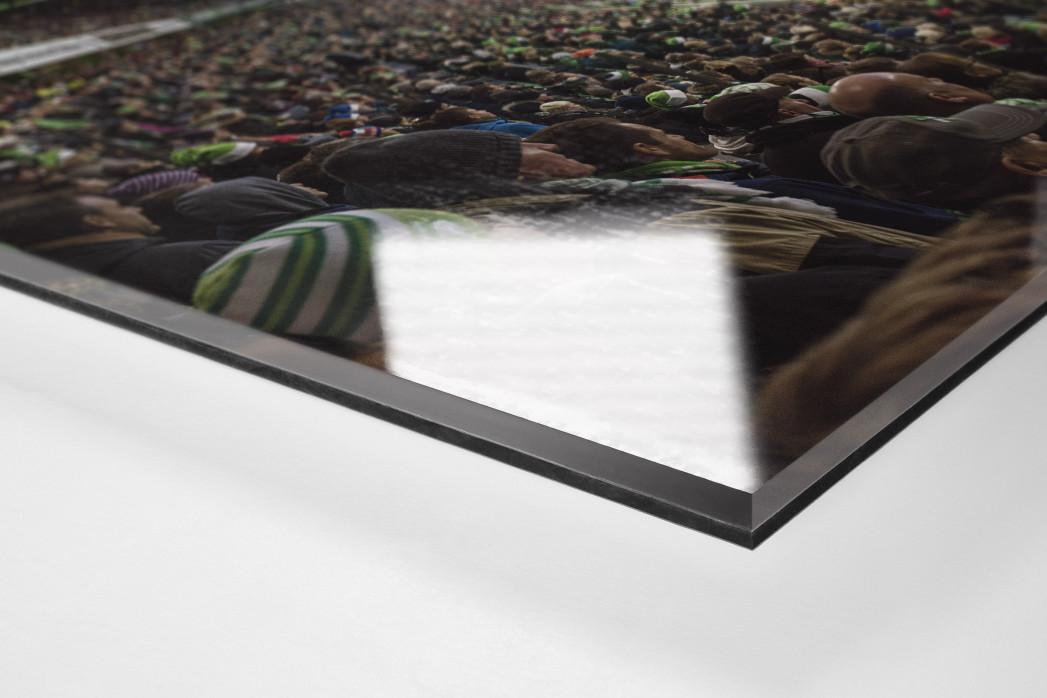 Wolfsburg (2015) als Direktdruck auf Alu-Dibond hinter Acrylglas (Detail)