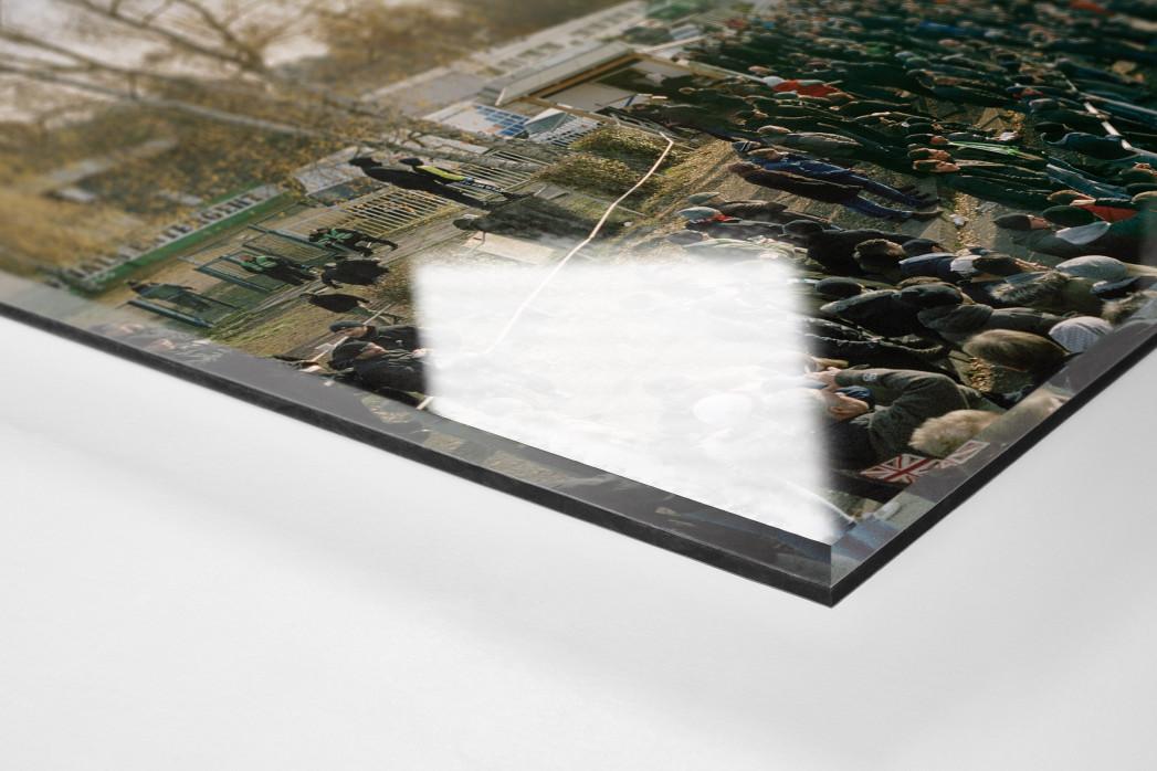 Leipzig (Chemie) als Direktdruck auf Alu-Dibond hinter Acrylglas (Detail)