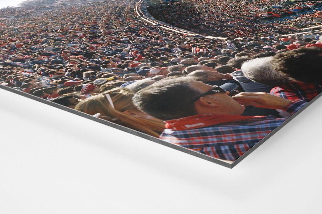 Madrid (Atletico) als auf Alu-Dibond kaschierter Fotoabzug (Detail)