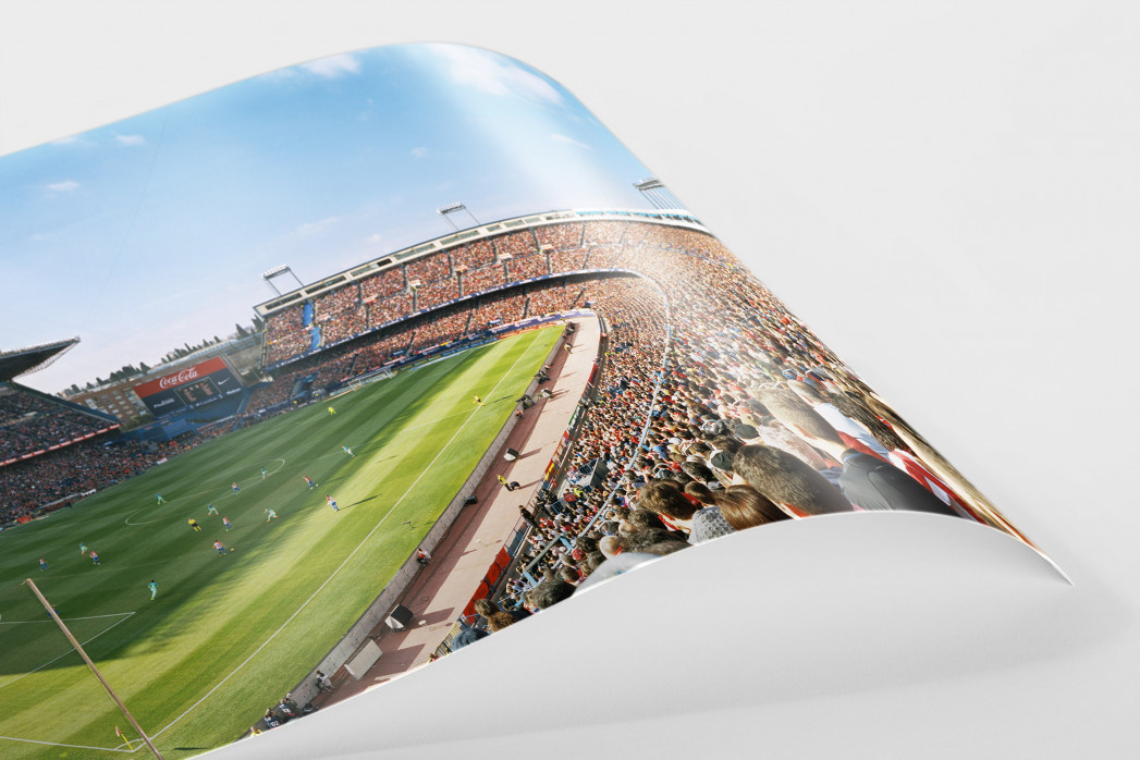 Madrid (Atletico) als FineArt-Print