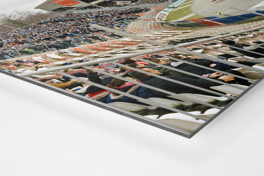 Karlsruhe (2017) als auf Alu-Dibond kaschierter Fotoabzug (Detail)