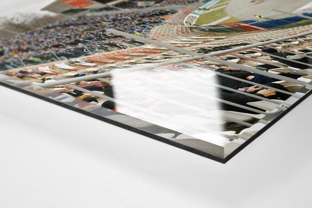 Karlsruhe (2017) als Direktdruck auf Alu-Dibond hinter Acrylglas (Detail)