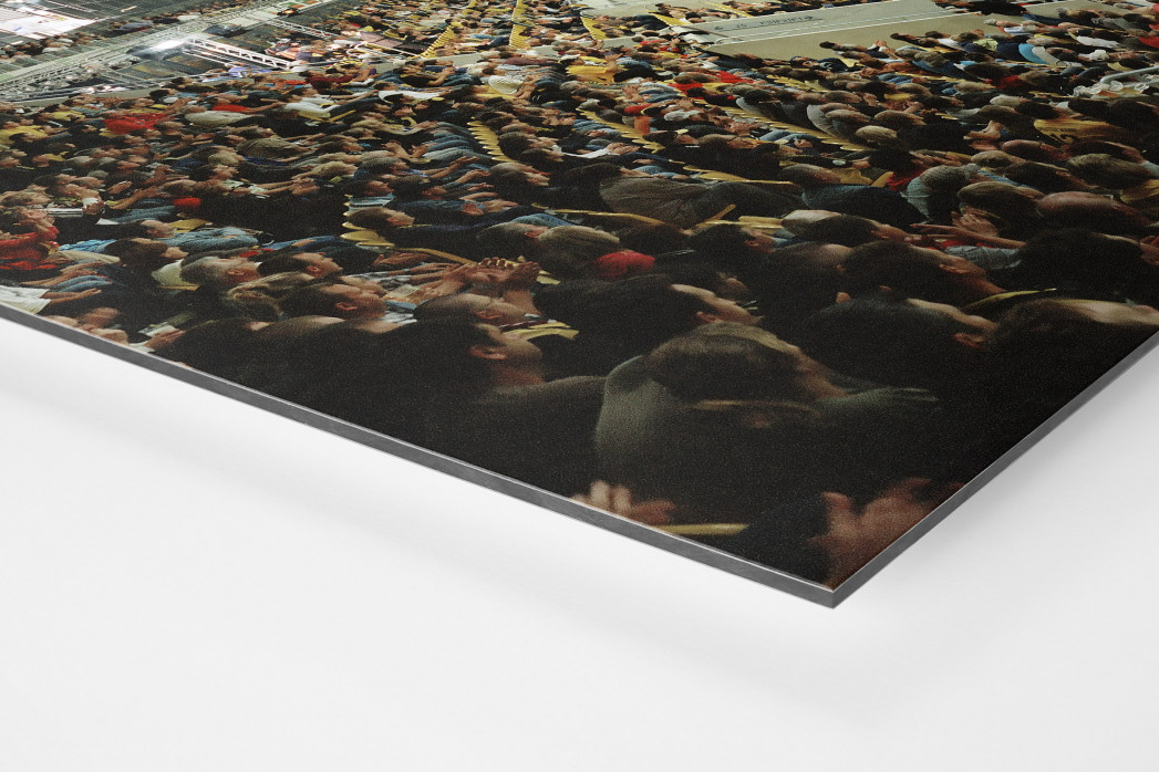 Dresden (2009) als auf Alu-Dibond kaschierter Fotoabzug (Detail)