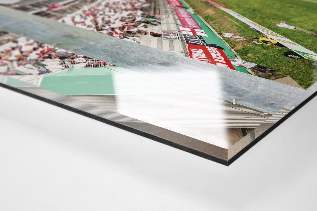Würzburg als Direktdruck auf Alu-Dibond hinter Acrylglas (Detail)
