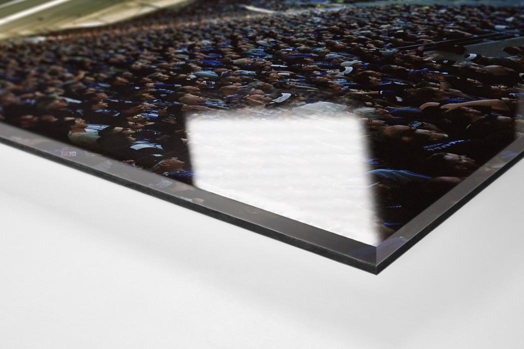 Aue (2018) als Direktdruck auf Alu-Dibond hinter Acrylglas (Detail)