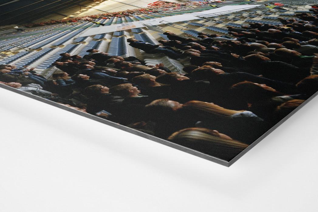 Bielefeld (2018) als auf Alu-Dibond kaschierter Fotoabzug (Detail)