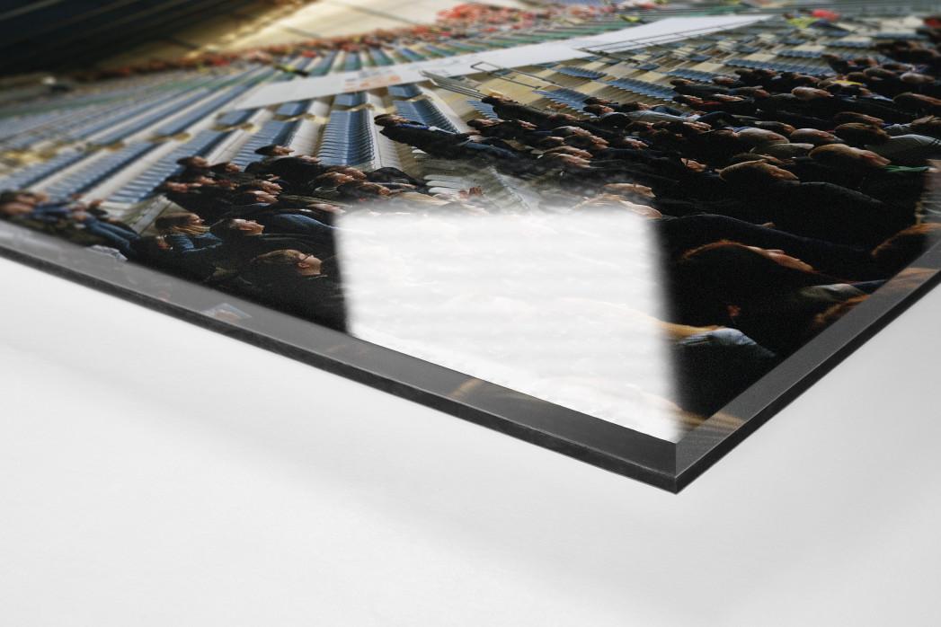 Bielefeld (2018) als Direktdruck auf Alu-Dibond hinter Acrylglas (Detail)