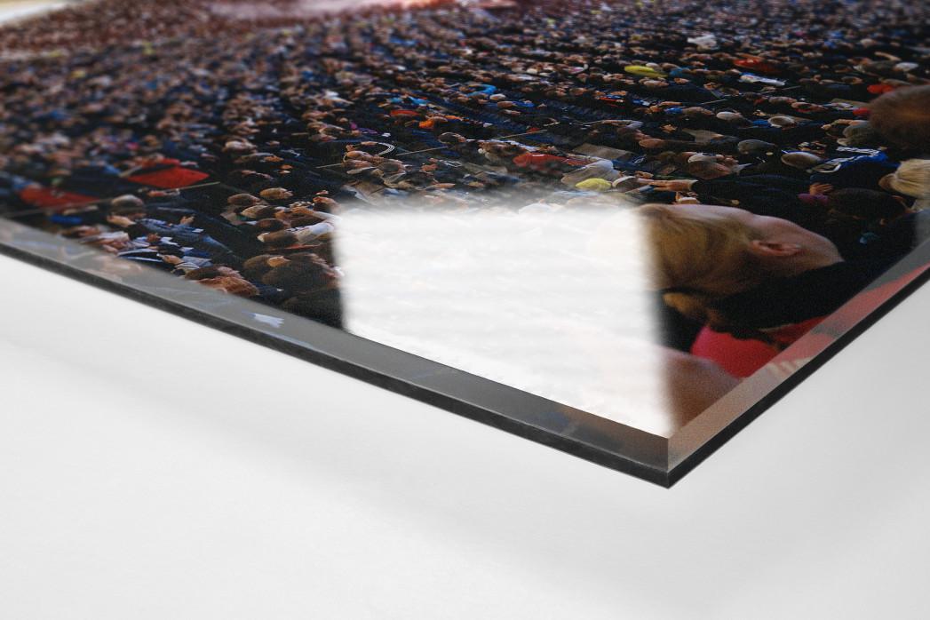 Hamburg (2018) als Direktdruck auf Alu-Dibond hinter Acrylglas (Detail)