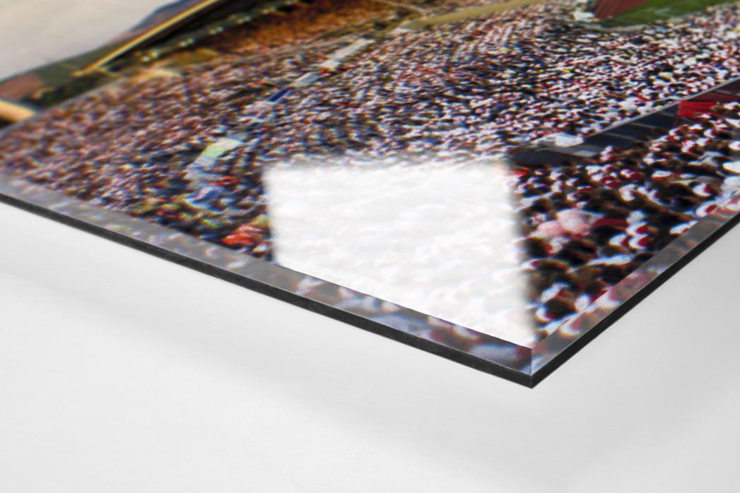 Stuttgart (1988) als Direktdruck auf Alu-Dibond hinter Acrylglas (Detail)