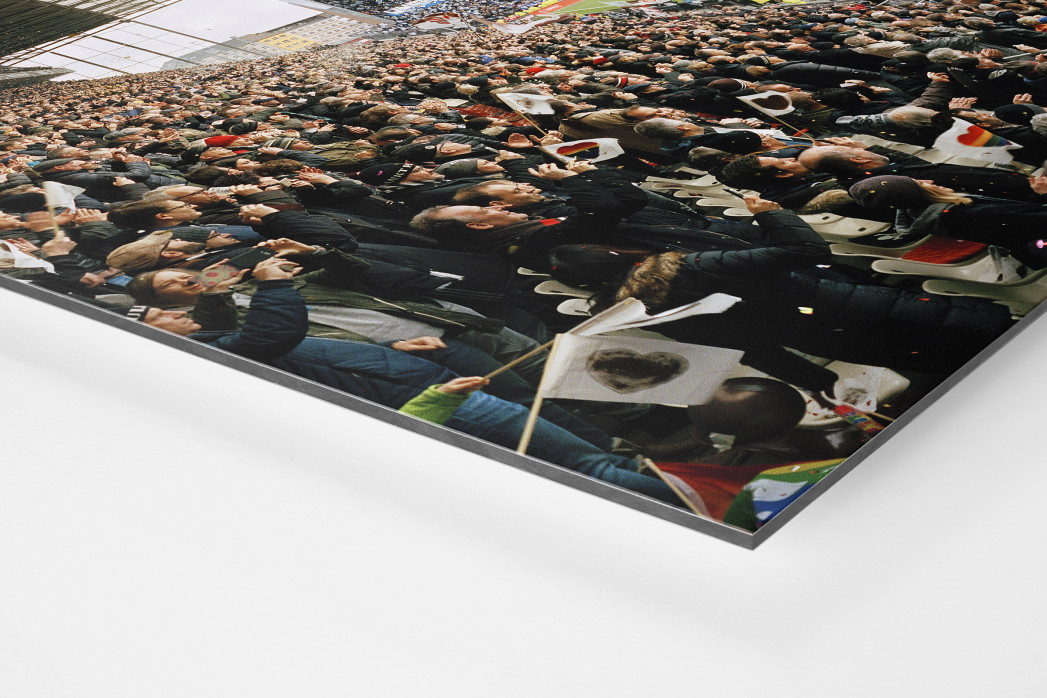 Hamburg (St. Pauli, 2019) als auf Alu-Dibond kaschierter Fotoabzug (Detail)