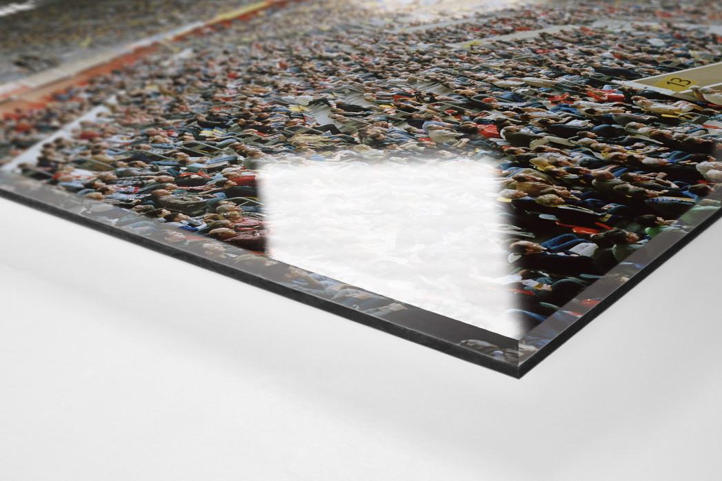 Düsseldorf (2012) als Direktdruck auf Alu-Dibond hinter Acrylglas (Detail)