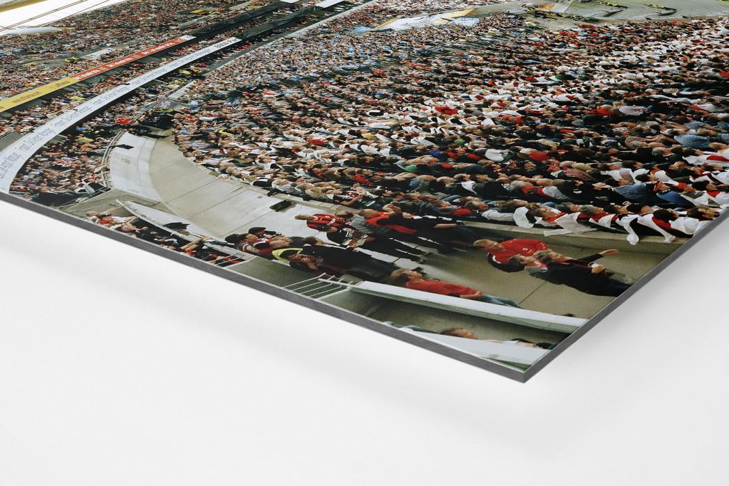 Frankfurt (2012) als auf Alu-Dibond kaschierter Fotoabzug (Detail)