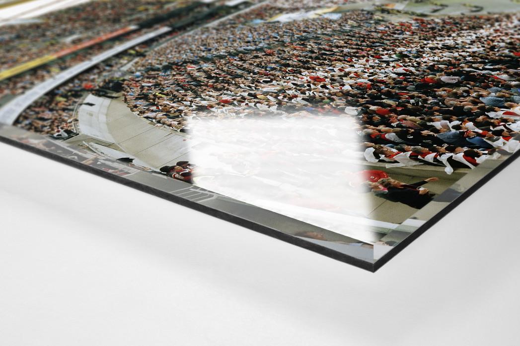 Frankfurt (2012) als Direktdruck auf Alu-Dibond hinter Acrylglas (Detail)
