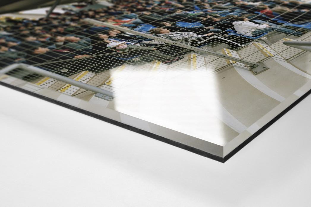 Frankfurt (Bornheim) als Direktdruck auf Alu-Dibond hinter Acrylglas (Detail)