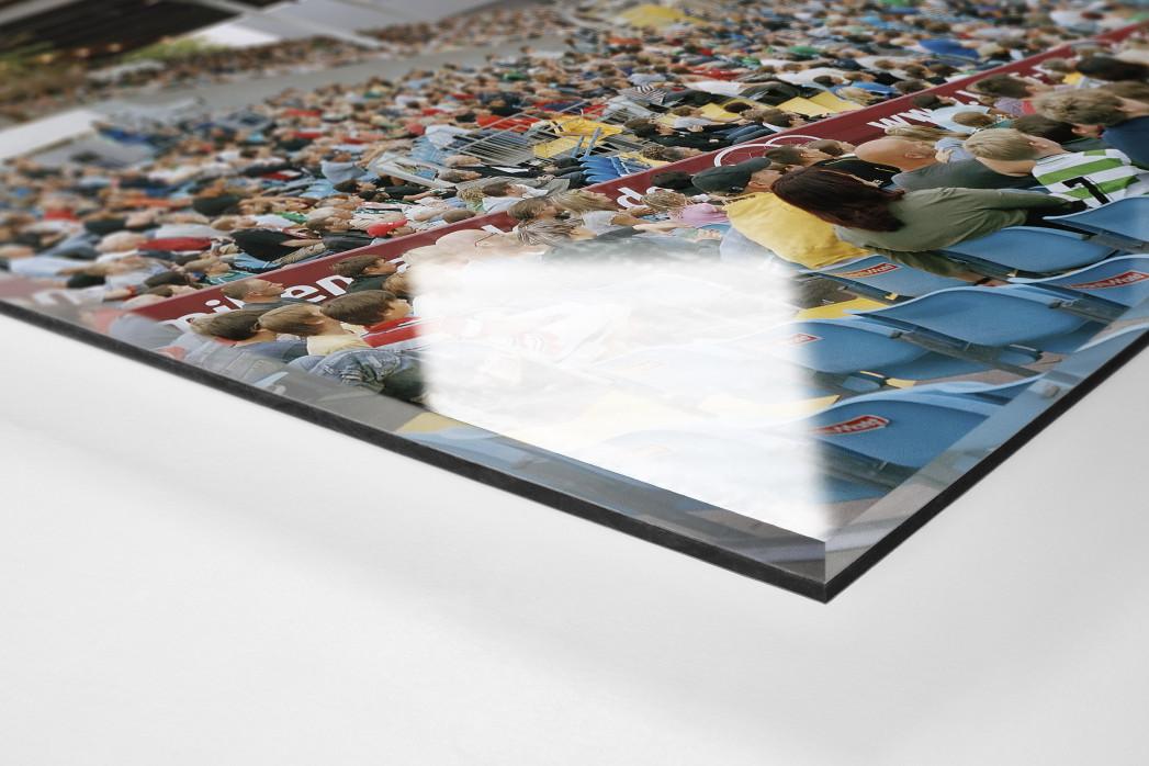 Fürth als Direktdruck auf Alu-Dibond hinter Acrylglas (Detail)