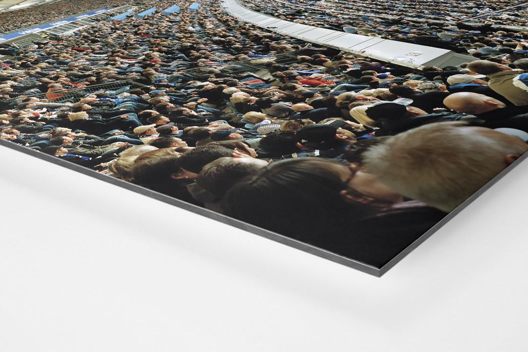 Hamburg (HSV, 2012) als auf Alu-Dibond kaschierter Fotoabzug (Detail)