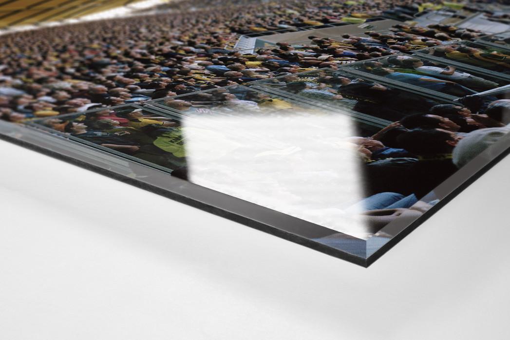 Aachen (2010) als Direktdruck auf Alu-Dibond hinter Acrylglas (Detail)