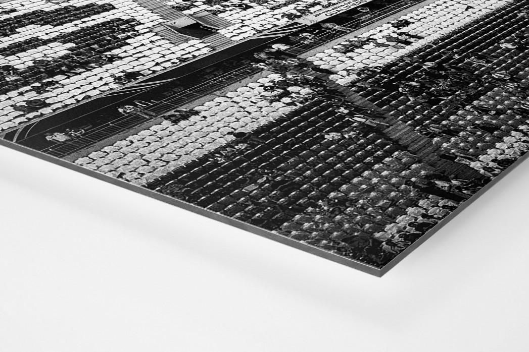 Schland in der Allianz Arena als auf Alu-Dibond kaschierter Fotoabzug (Detail)