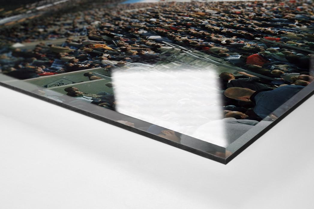 Rostock (2004) als Direktdruck auf Alu-Dibond hinter Acrylglas (Detail)