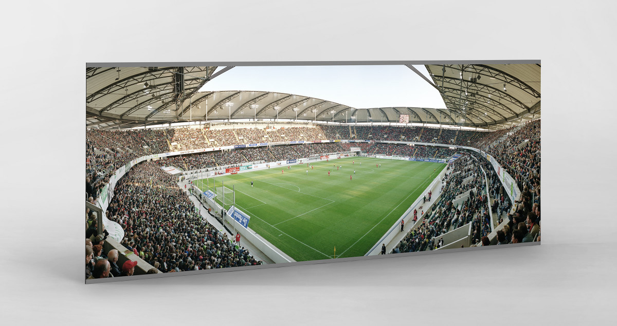 Wolfsburg (2003) als auf Alu-Dibond kaschierter Fotoabzug