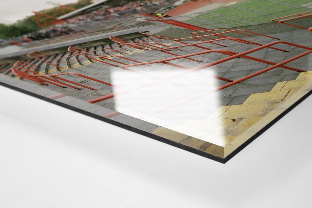 Oberhausen als Direktdruck auf Alu-Dibond hinter Acrylglas (Detail)