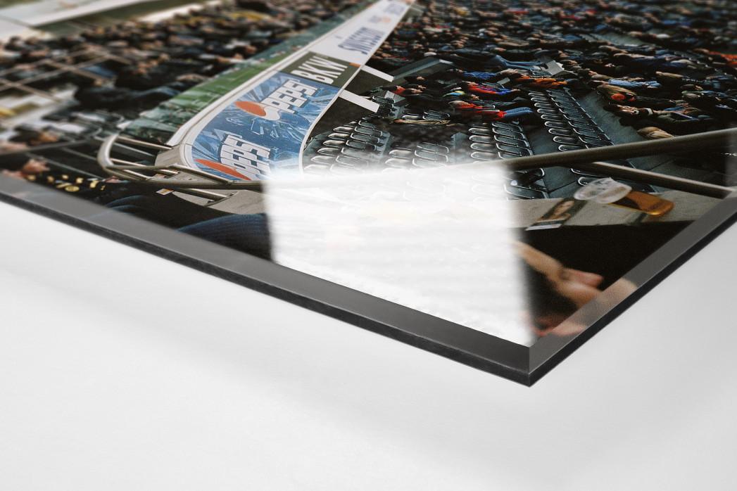 Bern als Direktdruck auf Alu-Dibond hinter Acrylglas (Detail)