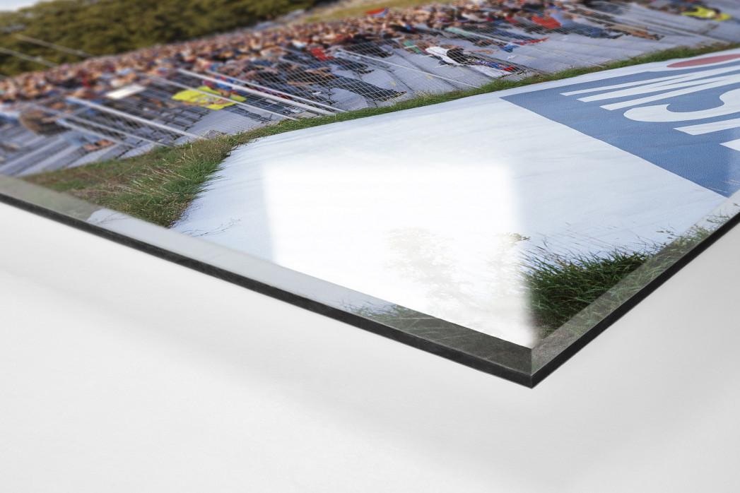 Wuppertal als Direktdruck auf Alu-Dibond hinter Acrylglas (Detail)