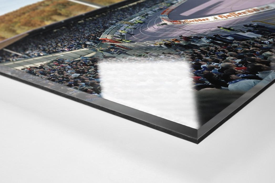 Aue (2004) als Direktdruck auf Alu-Dibond hinter Acrylglas (Detail)